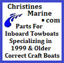 ChristinesMarine.com - Correct Craft Upholstery and Part