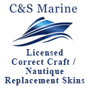 C&S Marine - Licensed Correct Craft / Nautique Replacement Skins