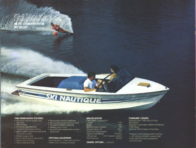 Reference : 1980 Correct Craft Brochure