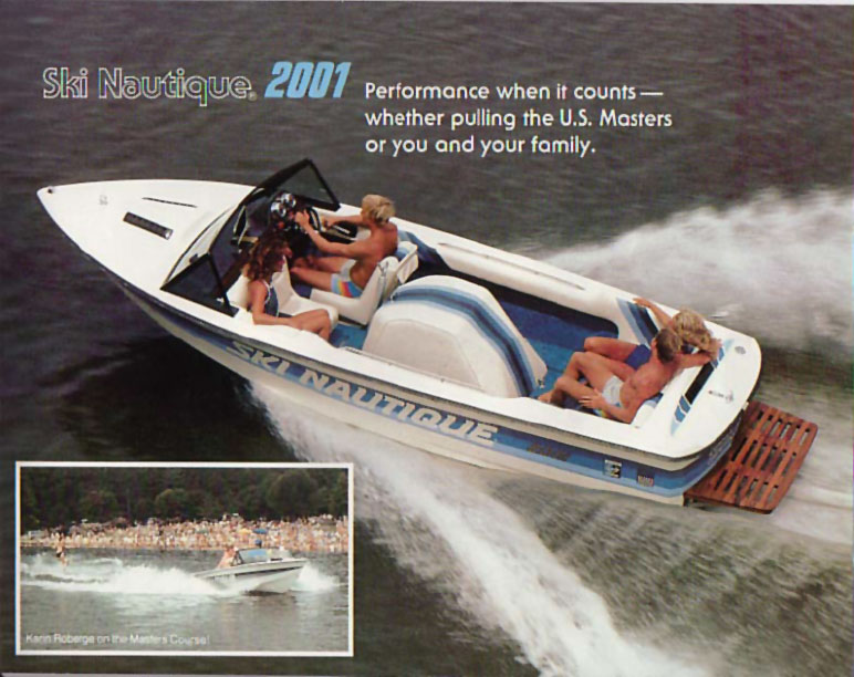 American Skier Boat model of 1976 #0